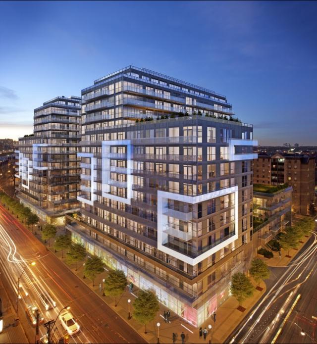 DNA3 Condos Building View Toronto, Canada