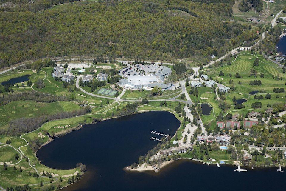 Deerhurst Resort Aerial View Toronto, Canada