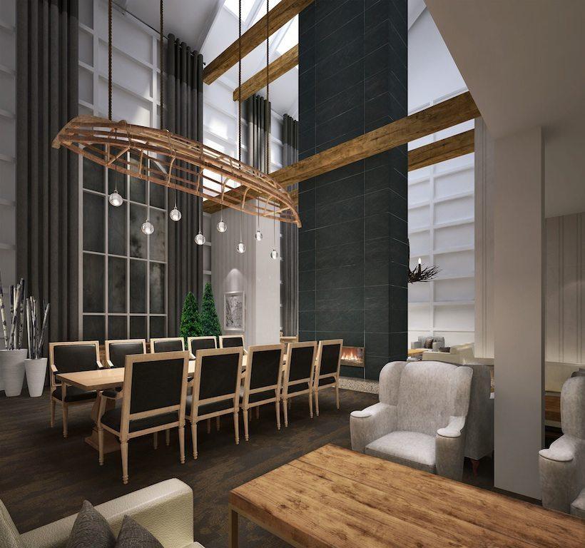 Deerhurst Resort Lobby Toronto, Canada