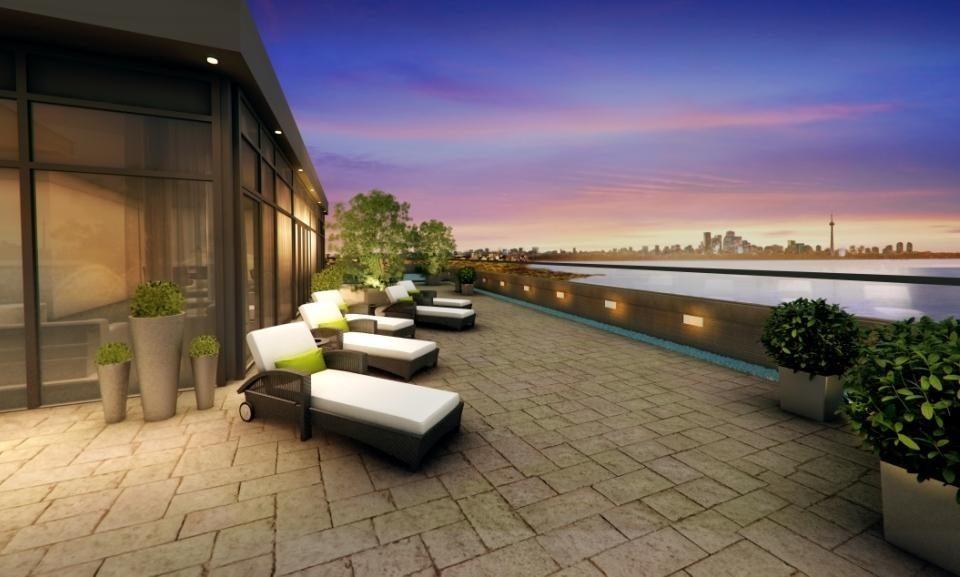 Eleven Superior Condos Terrace Lounge Toronto, Canada