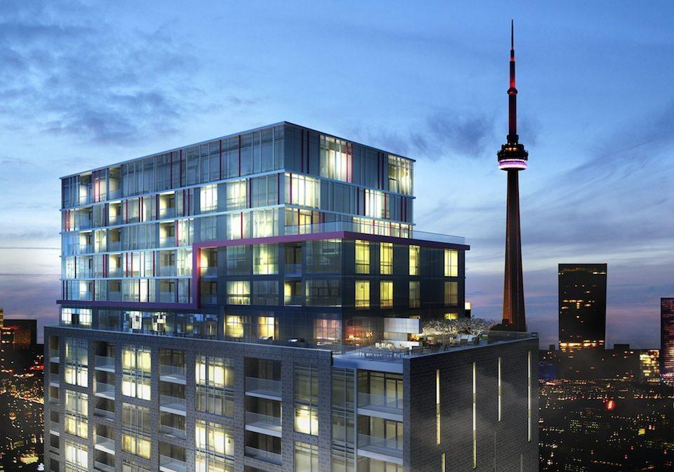 Fabrik Condos Close View Toronto, Canada