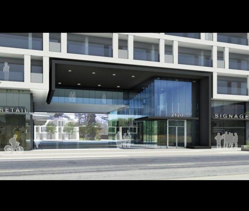 Gordon Woods Condominiums Entrance Toronto, Canada