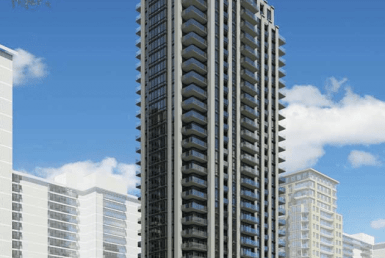 Grenadier Square Condos Building View Toronto, Canada