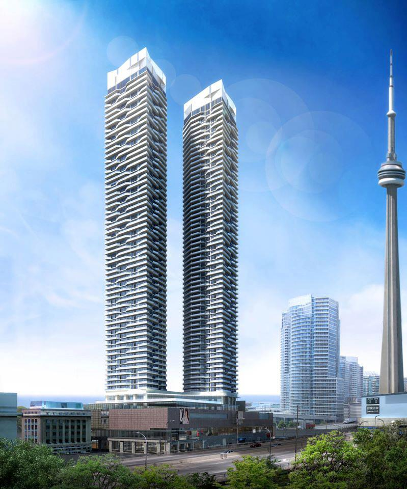 Harbour Plaza Residences Building View Toronto, Canada