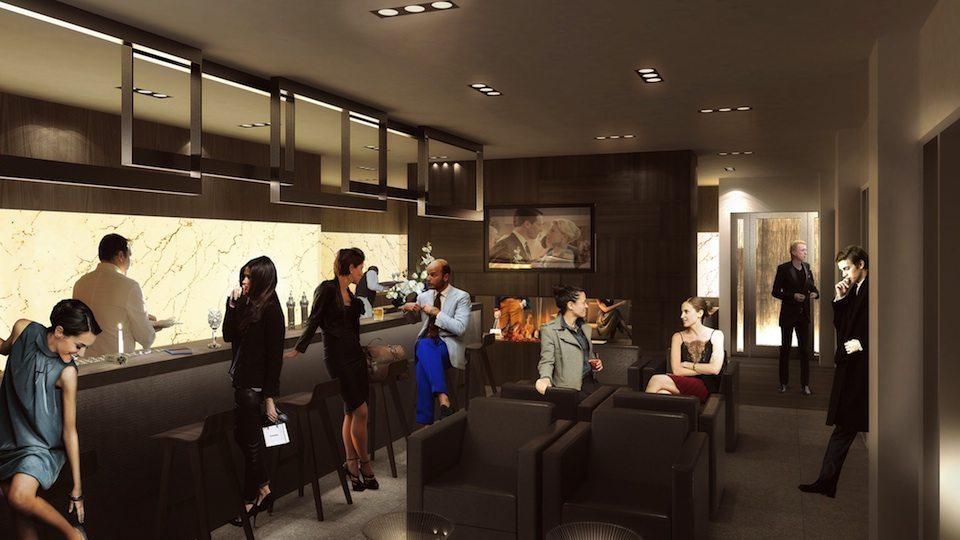 INDX Condos Wine Lounge Toronto, Canada