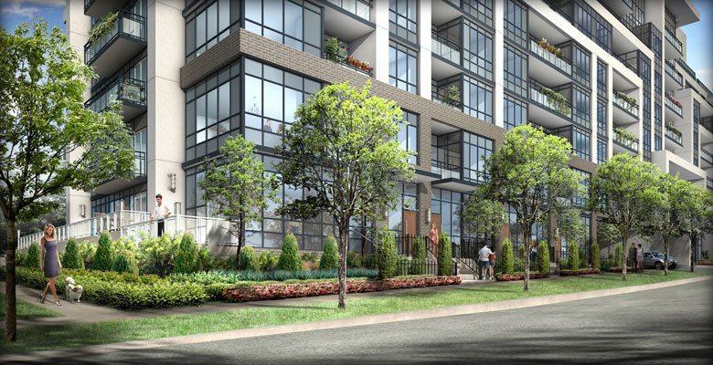 Jade Condominiums Condos Street View Toronto, Canada