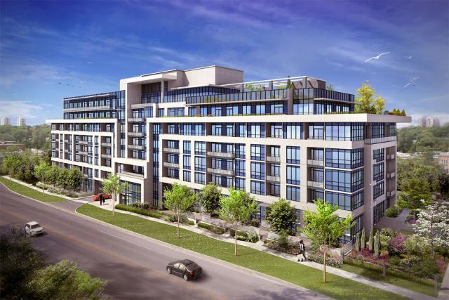 Jade Condominiums Condos Front View Toronto, Canada