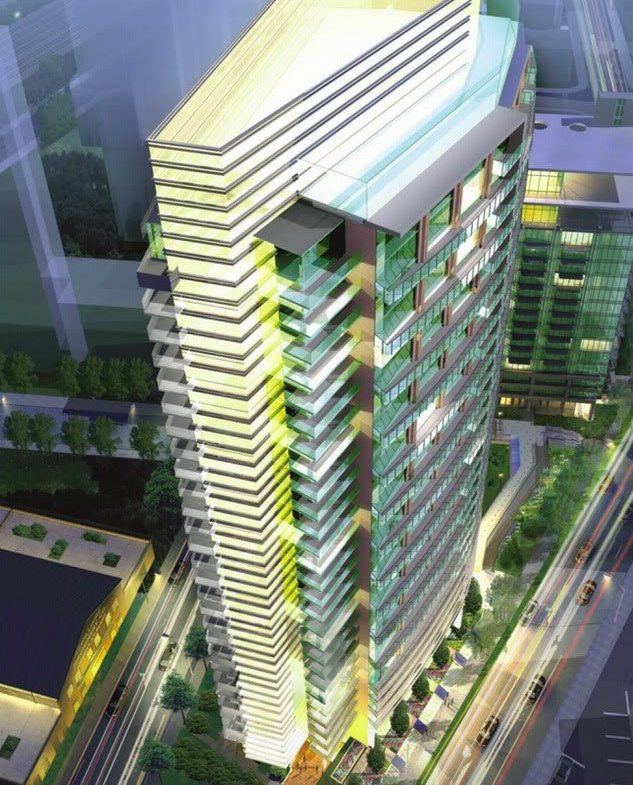 Liberty Place Condos Aerial View Toronto, Canada