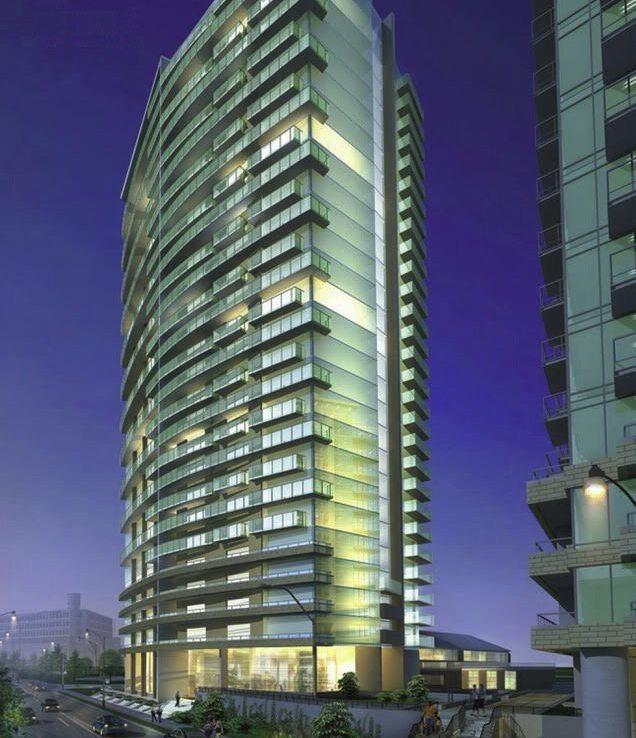 Liberty Place Condos Building View Toronto, Canada