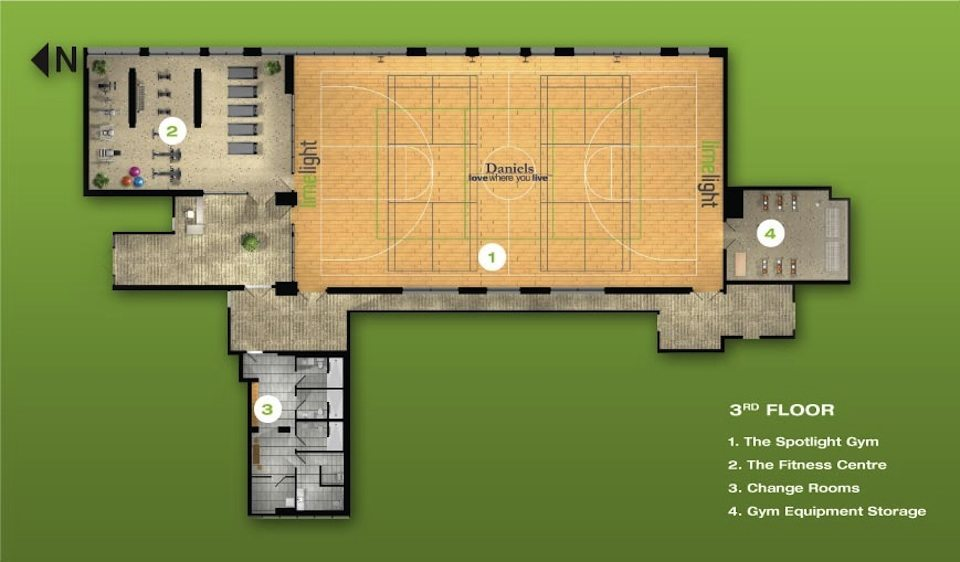 Limelight Condominiums Floor Plan Toronto, Canada
