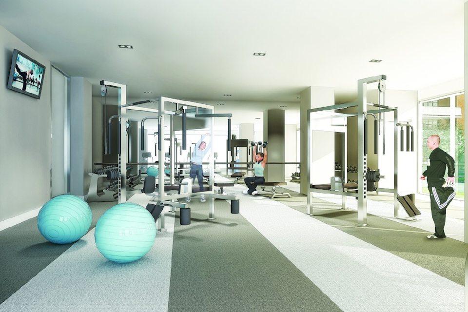 Lofts 399 Condos Gym Toronto, Canada