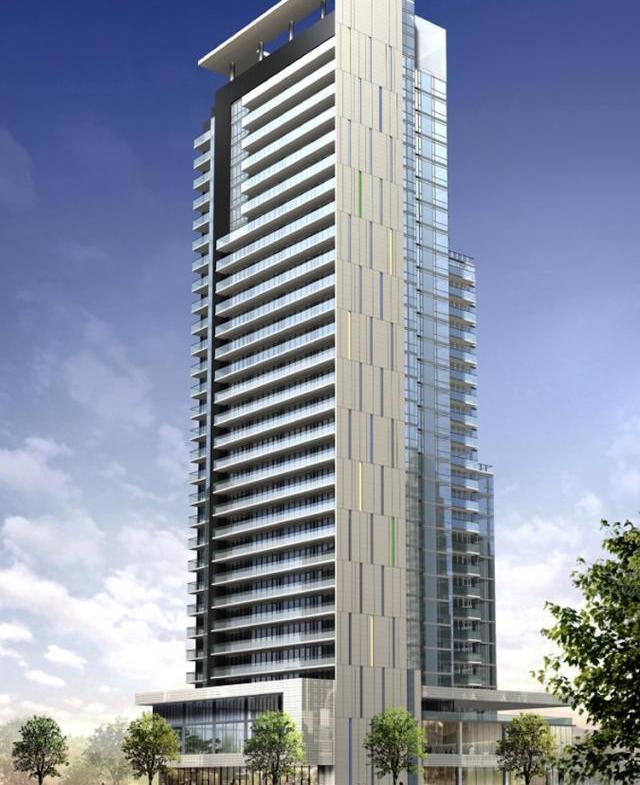 Lumiere Condominiums Building View Toronto, Canada