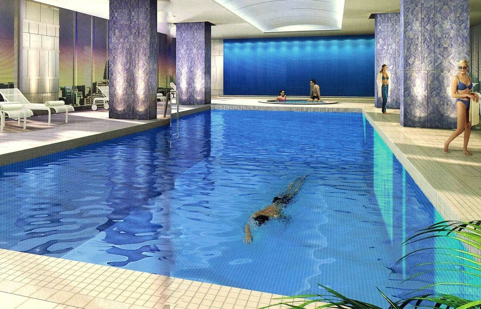 Maple Leaf Square Condos Swimming Pool Toronto, Canada