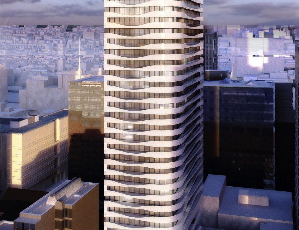 Massey Tower Condos View Toronto, Canada