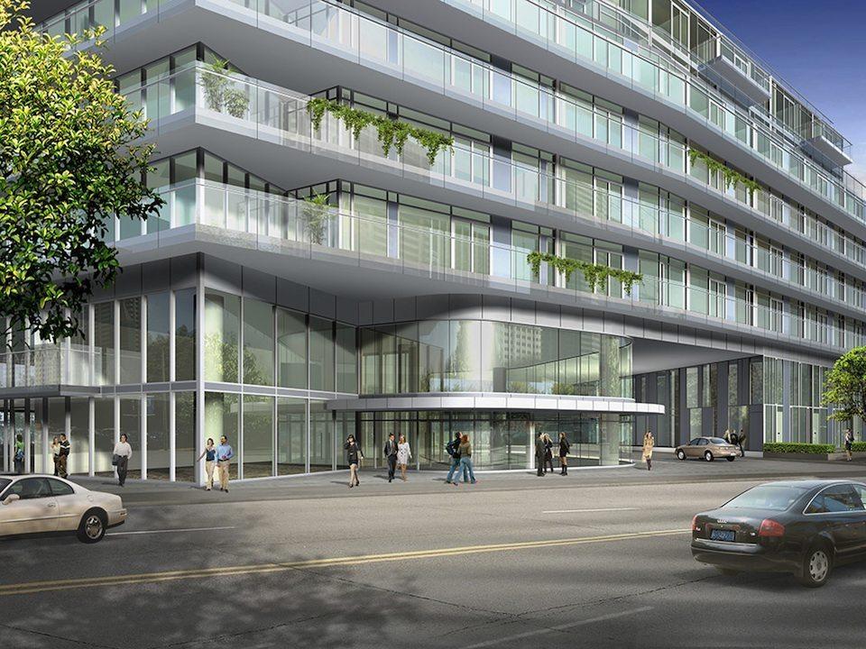 Milan Condominium Street View Toronto, Canada