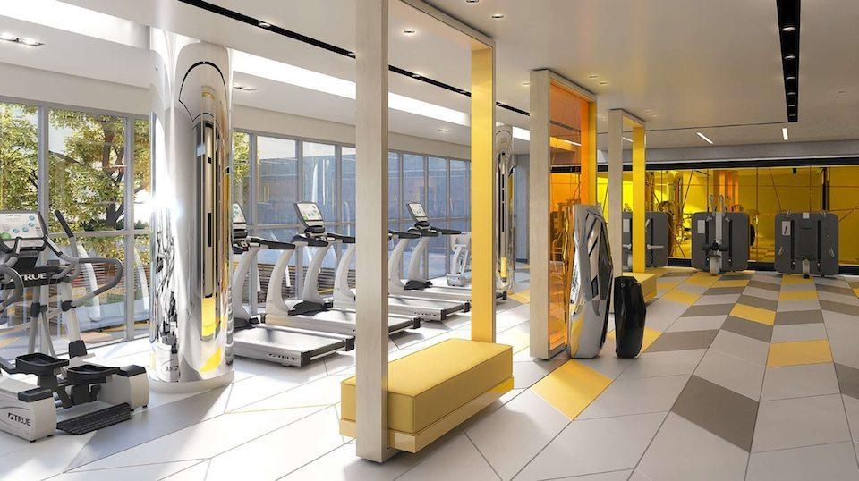 Minto 30Roe Condos Gym Toronto, Canada