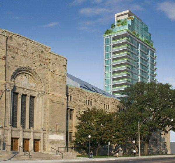 MuseumHouse Condos Close View Toronto, Canada