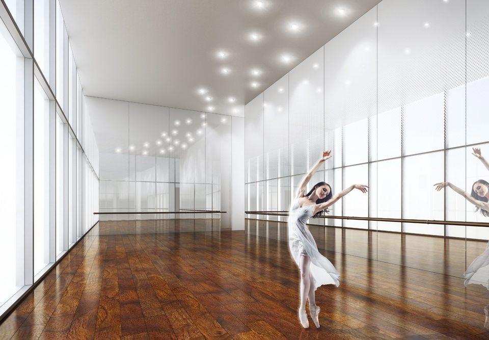 Newton at Concord CityPlace Dance Room Toronto, Canada