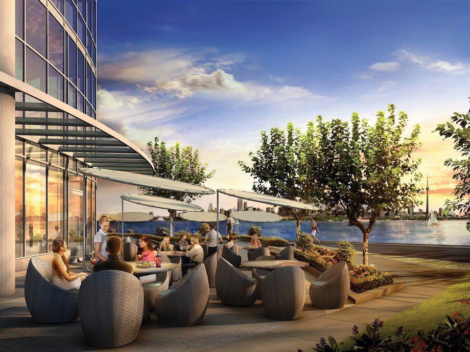 Ocean Club Condos Restaurant Toronto, Canada