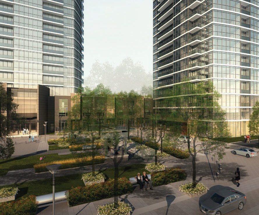 One Valhalla Towns & Condos + Triumph Phase Three Garden View Toronto, Canada