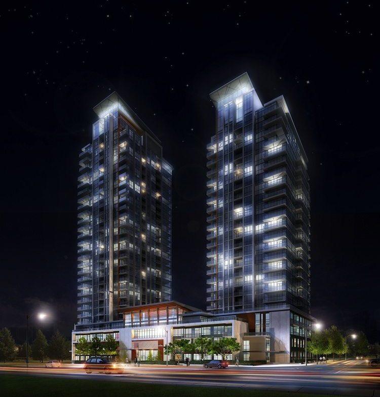 Pinnacle Uptown Crystal Condominiums Street View Toronto, Canada