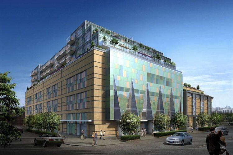 Queen & Portland Loft & Condominium Residences Outside View Toronto, Canada