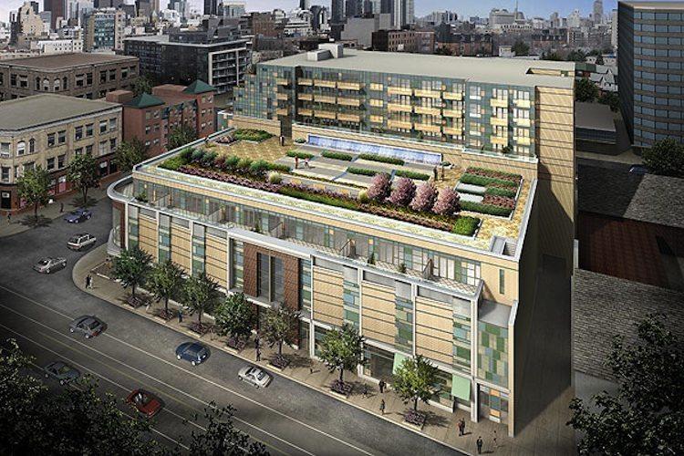 Queen & Portland Loft & Condominium Residences Terrace Garden Toronto, Canada