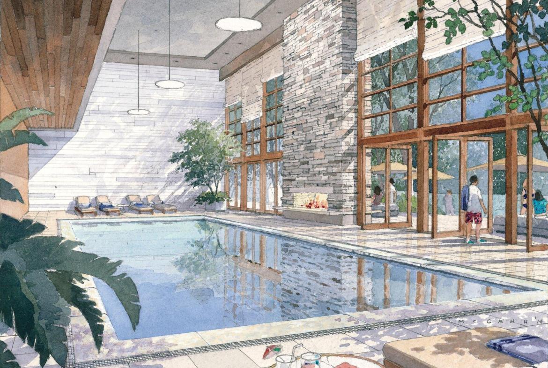 Ravine Condos Indoor Pool Toronto, Canada