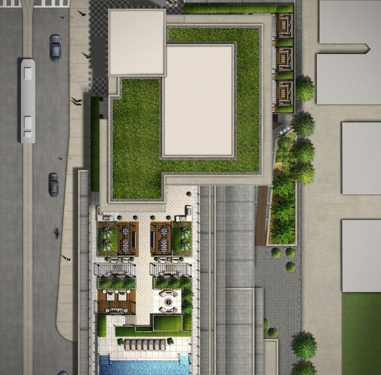 Rise Condos Amenities Plan Toronto, Canada
