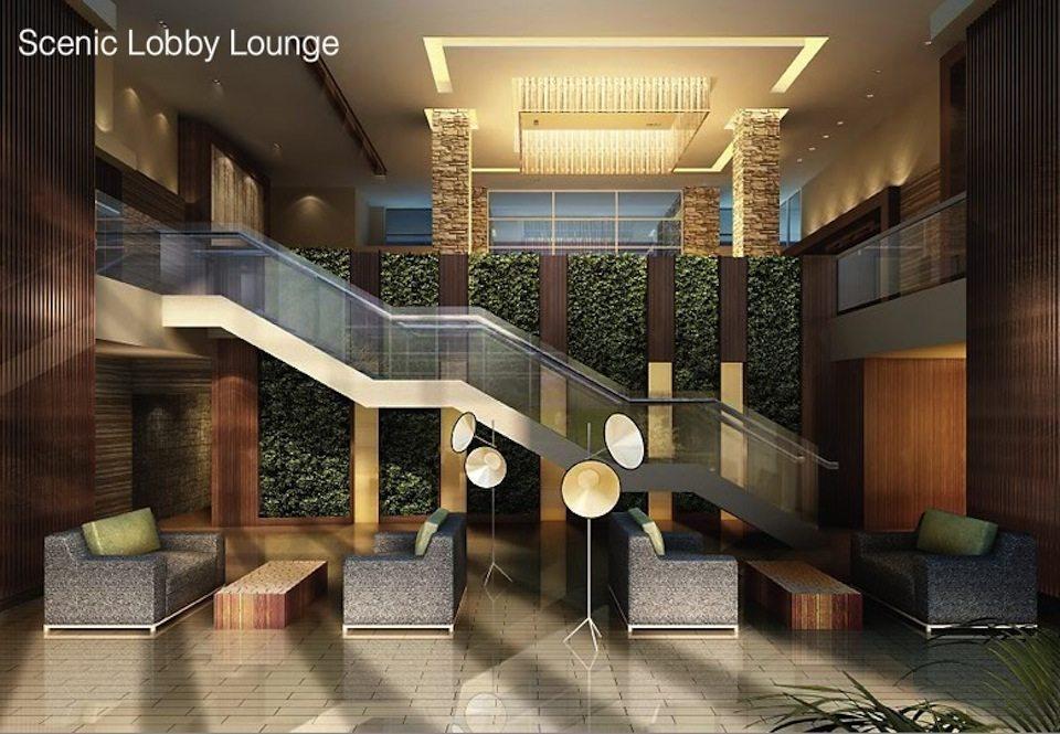 Scenic On Eglinton Condos Lobby Lounge Toronto, Canada