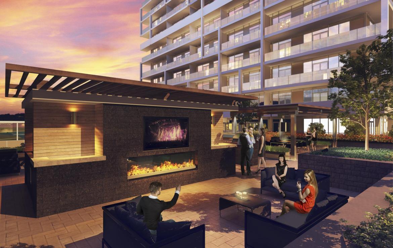Senses Condominiums Outdoor Party Toronto, Canada