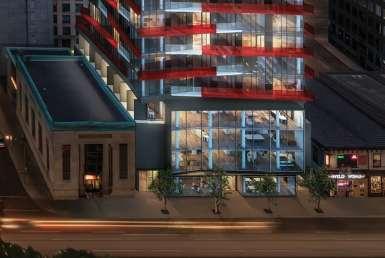 Smart House Condos Night View Toronto, Canada