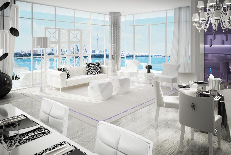 South Beach Condos & Lofts Wine Lounge Toronto, Canada