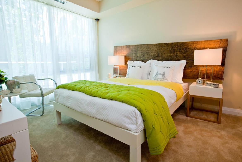Stonebrook Condominiums Bedroom Toronto, Canada