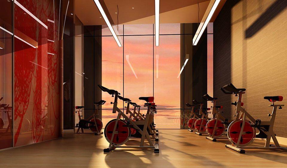 Ten York Street Condos Fitness Center Toronto, Canada