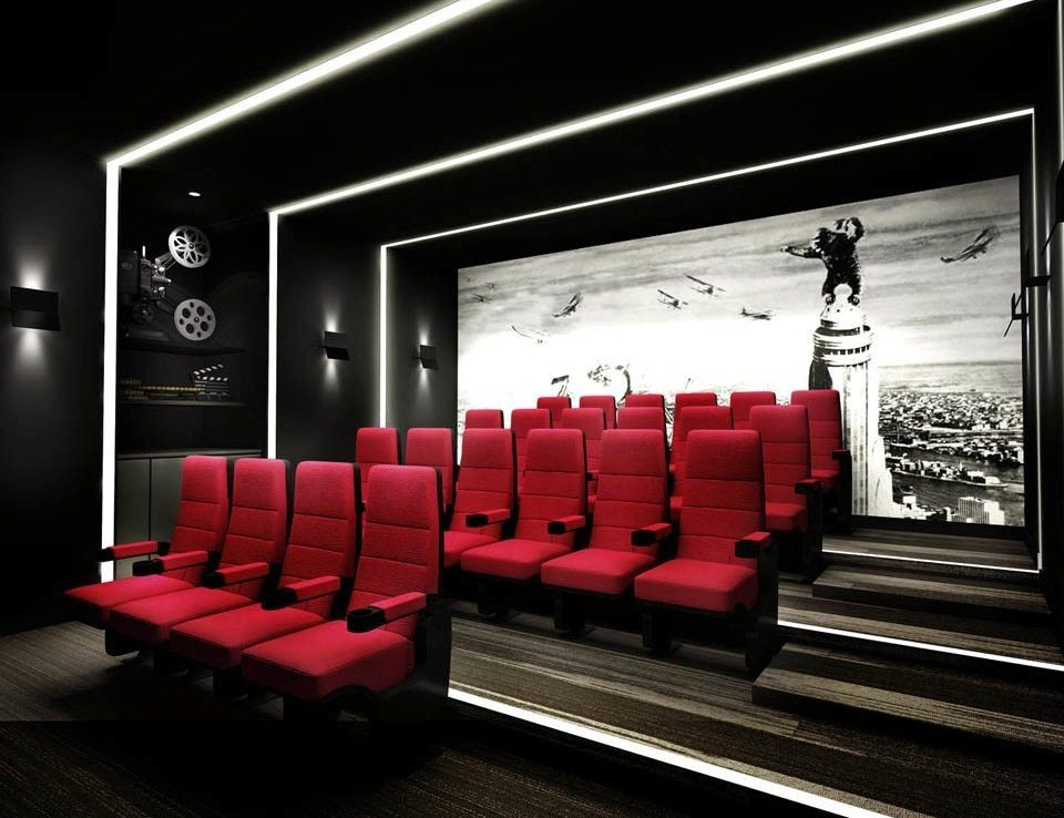 Ten York Street Condos Theater Room Toronto, Canada