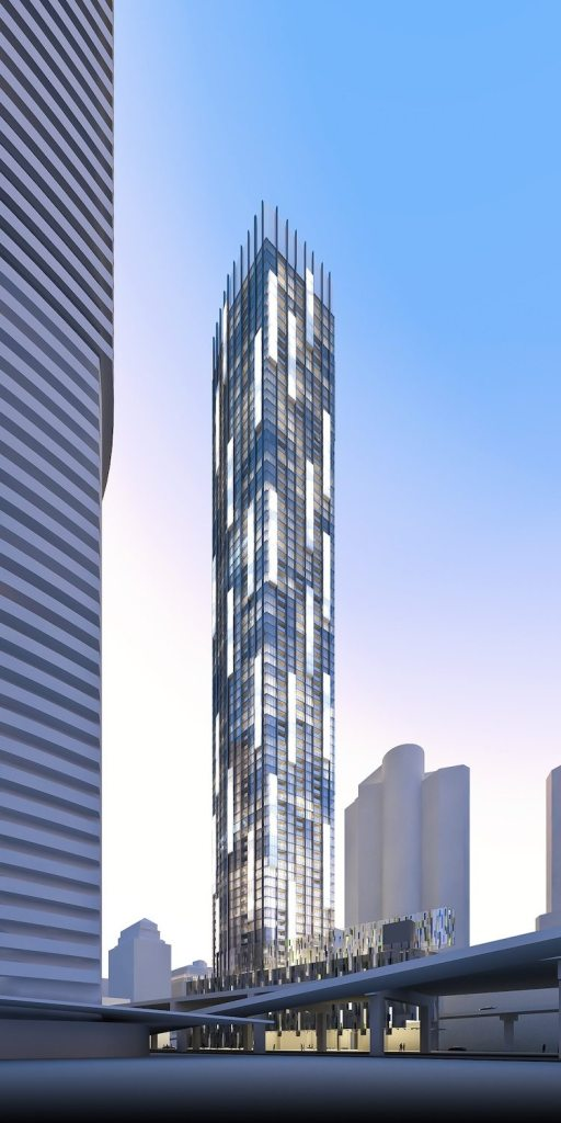 Ten York Street Condos Building View Toronto, Canada