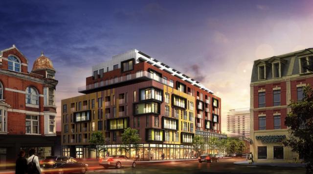 Ten93 Queen West Condos Building View Toronto, Canada