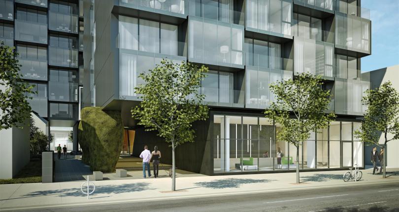 Thompson Residences Street View Toronto, Canada