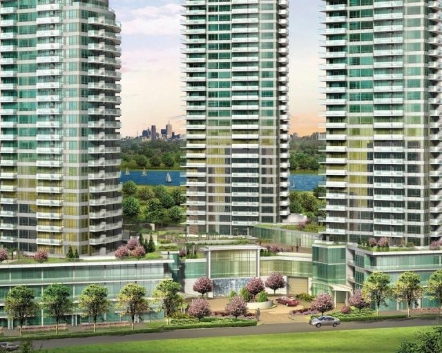 Beyond The Sea Condos Building View Toronto, Canada