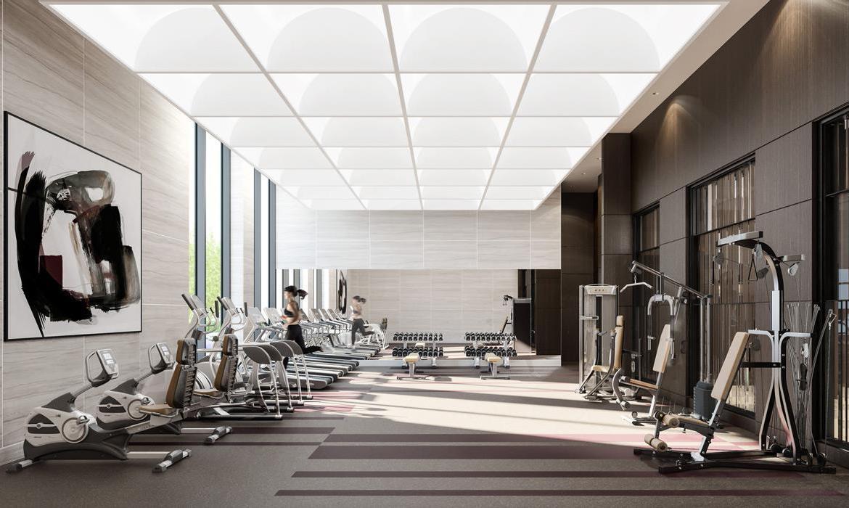 Bianca Condos Gym Toronto, Canada