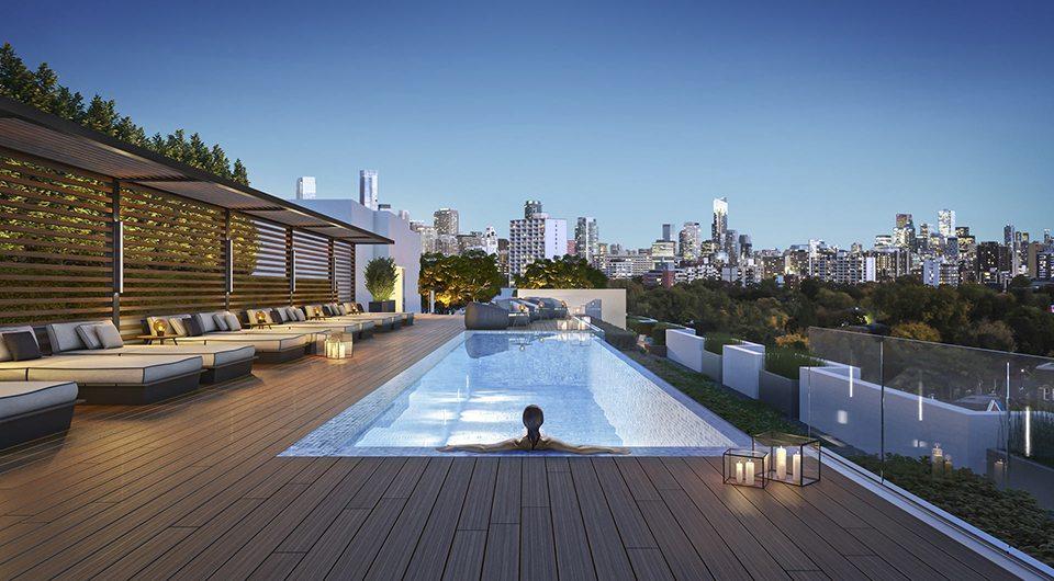 Bianca Condos Rooftop Pool Toronto, Canada