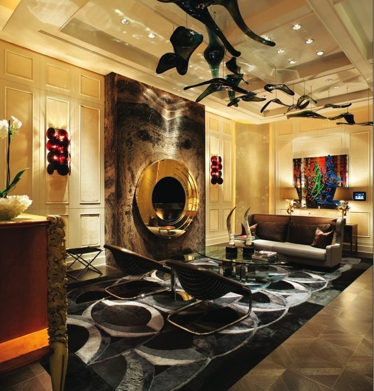 Bisha Hotel and Residences Lounge Toronto, Canada