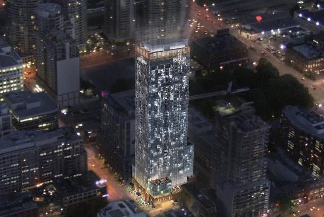 Bisha Hotel and Residences Night View Toronto, Canada