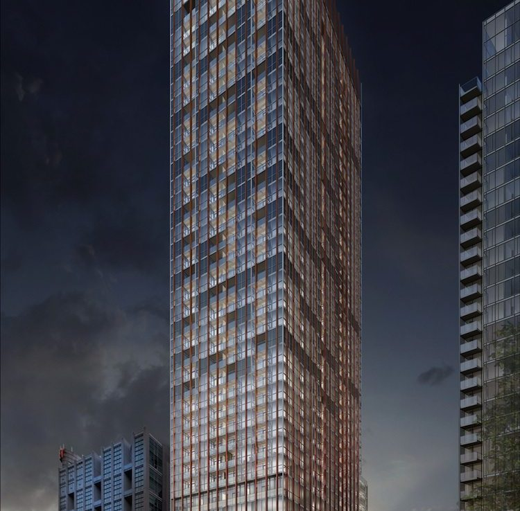 Bisha Hotel and Residences Building View Toronto, Canada