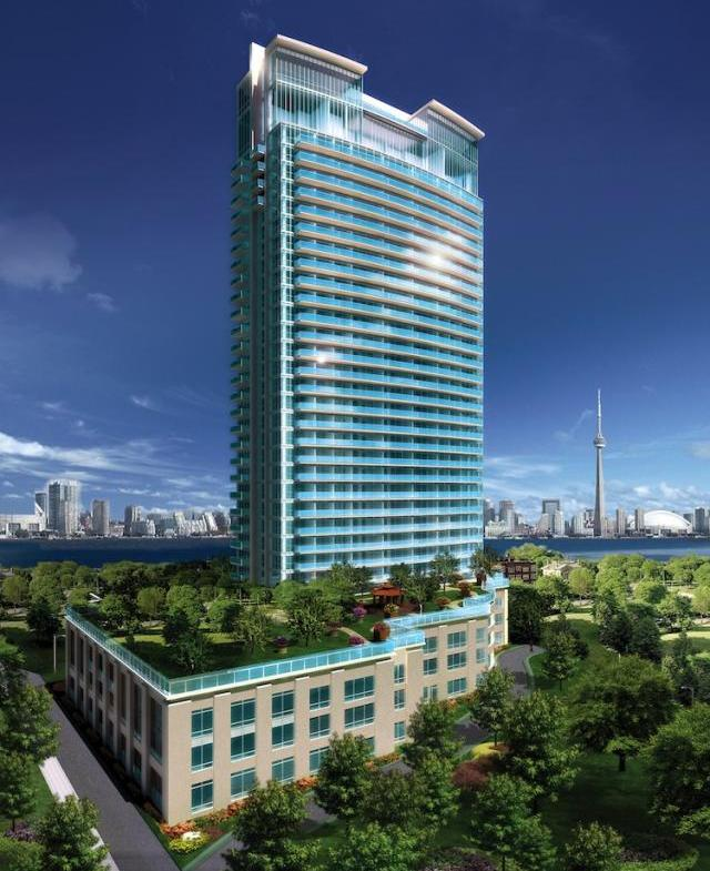 California Condominiums Building View Toronto, Canada