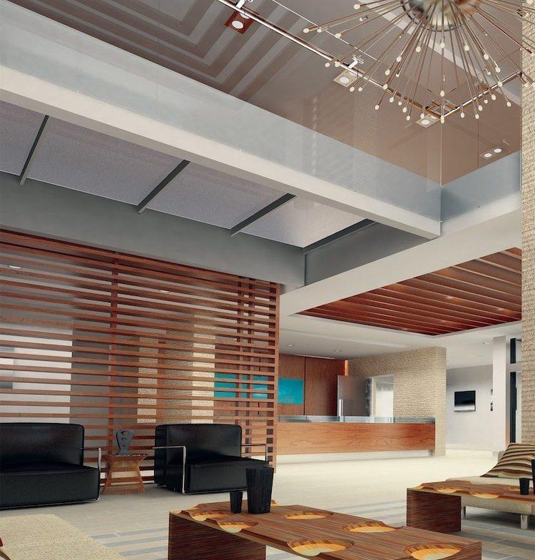 California Condominiums Lobby Toronto, Canada