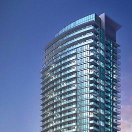 Rendering of Emerald City Condos Exterior