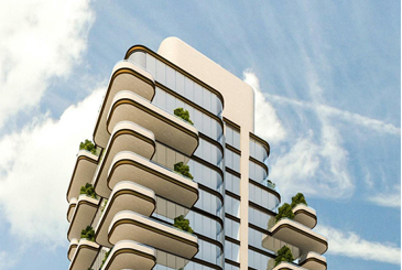Rendering of 33 Avenue Road Condos in Toronto
