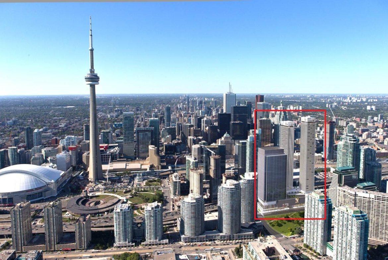 Harbour Plaza Residences Aerial View Toronto, Canada